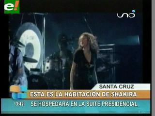 Shakira pidió cuarto oscuro y mucha ensalada para su estadía en ...