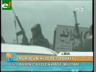 Aseguran que un hijo de Gadafi murió en un ataque suicida