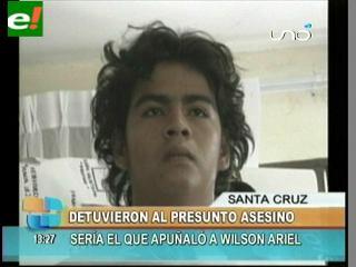Detienen a supuesto asesino de un joven