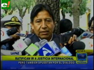 """Choquehuanca: """"Bolivia no puede esperar otros 132 años por mar"""""""