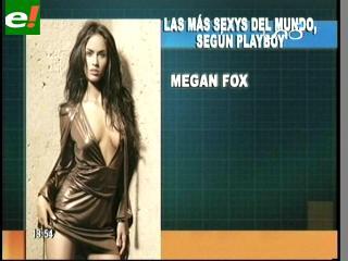 Las más sexys del mundo, según Playboy