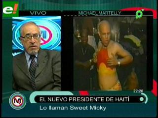 Martelly, el cantante que se reinventó como presidente