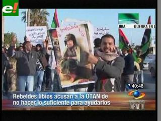 """Jefe rebelde libio acusa a OTAN de """"dejar morir a los habitantes de Misrata"""""""
