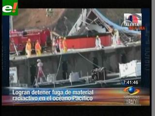Logran bajar la radiación en la planta nuclear de Fukushima I