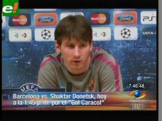 De ida Barcelona recibe al Shakhtar