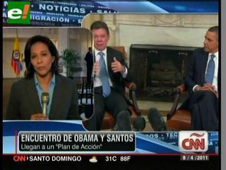 Obama y Santos sellan el TLC