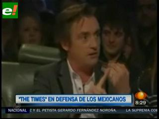 """""""The Times"""" critica programa satírico que decía que los mexicanos son perezosos"""