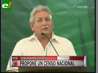 Costas propone censo nacional para luchar contra la inseguridad