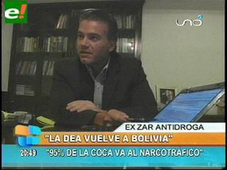 """Justiniano: """"Bolivia, Brasil y EEUU empiezan un nuevo capítulo en la lucha antinarcóticos"""""""
