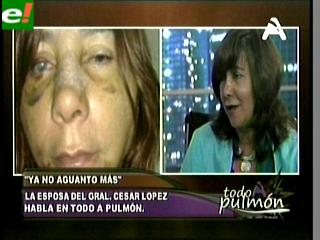 La esposa del General López cuenta su verdad