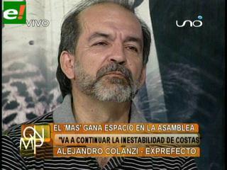 Alejandro Colanzi: «Rubén Costas es prisionero de su propio castillo»