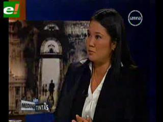 Keiko Fujimori pidió perdón por delitos en el gobierno de su padre