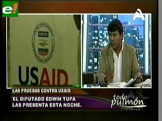 Tupa acusa a Usaid de injerencia política