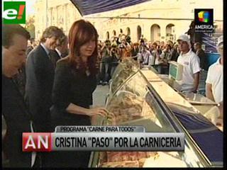 """""""Carne para todos"""", un nuevo programa de Cristina Fernández contra la inflación"""