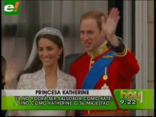 Las 10 cosas que Kate Middleton no podrá hacer ahora que es princesa