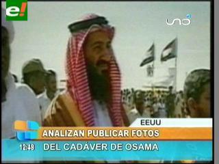 EEUU analiza publicar fotos del cadáver de Osama