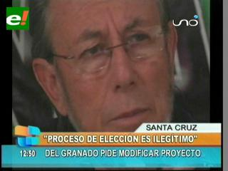 """Juan Del Granado: """"Fiscales no deben participar en las elecciones del Órgano Judicial"""""""