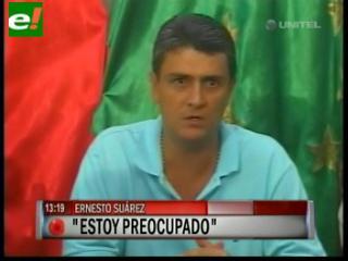 "Suárez denuncia ""acarreo de campesinos"" para tumbarlo"