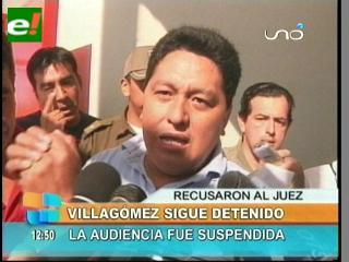 """Presidente de la Asamblea Cruceña se declara """"preso político"""""""