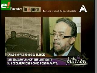 """Carlos Núñez: """"Hay una enorme campaña para hacer fracasar el caso Rózsa"""""""