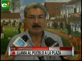 Santa Cruz se concentra por la democracia
