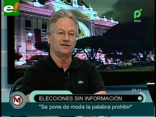 """El Deber se rebela ante el Tribunal Electoral: """"Informaremos al margen de las prohibiciones"""""""