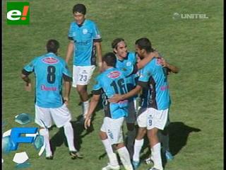 Aurora golea a La Paz FC en el Hernando Siles