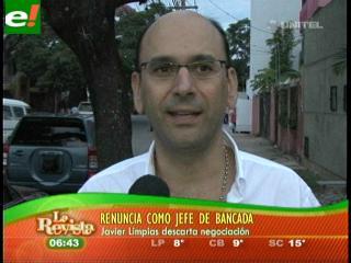 Javier Limpias renuncia y Verdes se debilita