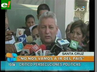 Costas hace llegar su apoyo a Ernesto Suárez