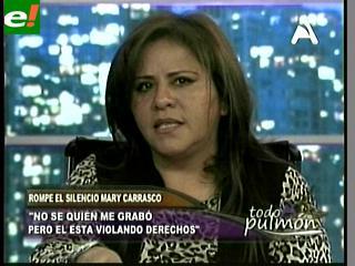 "Mary Carrasco rompe el silencio: ""Nunca estuve sentada con Marcelo Soza"""