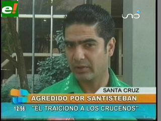 "Diego Suárez: ""Jorge Santistevan es un político inmaduro"""