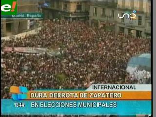 Duro revés para Zapatero, pierde en las elecciones municipales