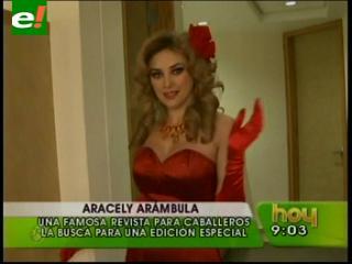 Aracely Arámbula en Playboy