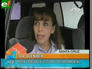 Tribunal Electoral de Santa Cruz pide no especular con el DUI