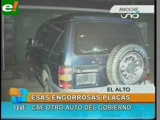 """Detienen al chofer de la Ministra de Producción con un auto """"chuto"""""""