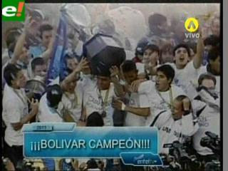 Bolívar levanta la copa una vez más