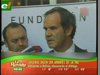 """Ministro chileno: """"Chile es amante de la paz pero capaz de resguardar su soberanía"""""""