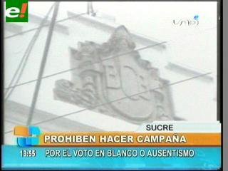 Mario Uribe prohíbe incentivar votos blancos y nulos