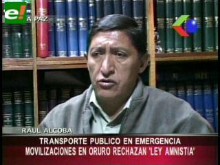 """Transportistas van al bloqueo de caminos en contra de la nacionalización de """"autos chutos"""""""