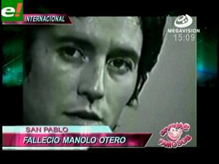 A los 63 años fallece Manolo Otero