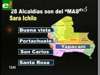 El MAS manda en 28 Alcaldías