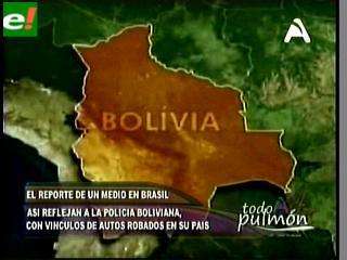 Medios de Chile y Brasil prueban ingreso de autos robados al país