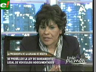 """Marlene Ardaya: """"No podrá nacionalizarse una movilidad que tenga sentencia ejecutoriada"""""""