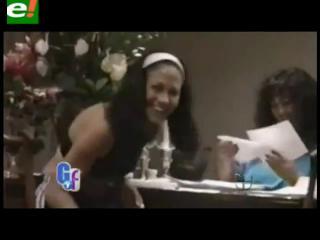 Filtran el primer video íntimo de Jennifer López y lo difunden en TV