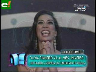 Olivia Pinheiro reabre la polémica del Miss Universo 2011