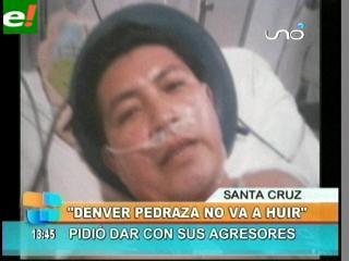 Denver Pedraza pide dar con sus agresores