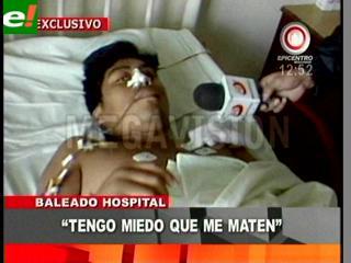 """Adán López salió de terapia intensiva: """"Temo por mi vida"""""""