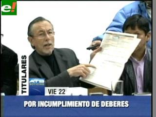 MSM demanda a los vocales del TSE por incumplimiento de deberes