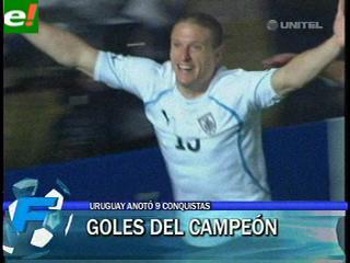 Los goles del campeón