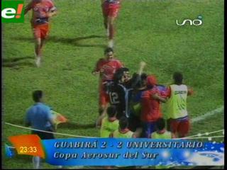 Universitario roba empate en Montero